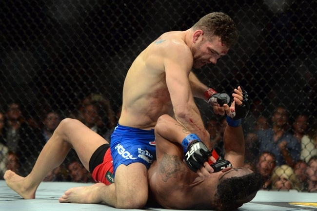 MMA: UFC 187-Weidman vs Belfort