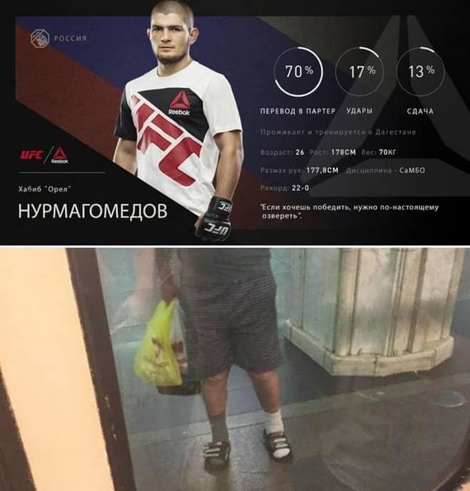 Форма Нурмагомедова