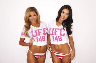 ARIANNY CELESTE and BRITTNEY PALMER at Fourth of July Photoshoot for The Chive