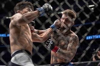 MMA: UFC 202-Garbrandt vs Mizugaki