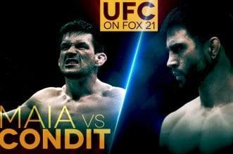 Ставки на бои UFC on FOX 21