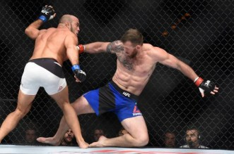 MMA: UFC Fight Night-Bader vs Latifi