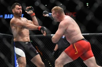 MMA: UFC Fight Night-Arlovski vs Barnett