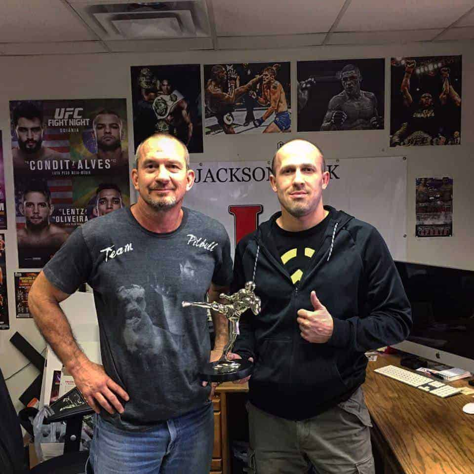 JacksonsWink MMA получил награду от журнала Fighter's Only