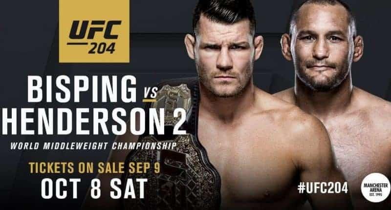 результаты UFC 204