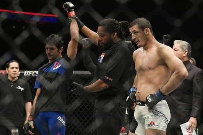 MMA: UFC Fight Night-Dariush vs Magomedov