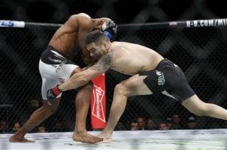 MMA: UFC 205-Weidman vs Romero