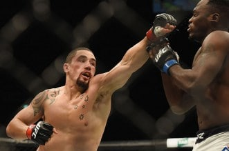 MMA: UFC Fight Night-Whittaker vs Brunson