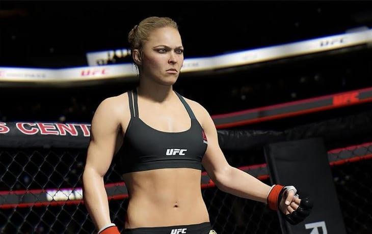 Ронда роузи UFC 2