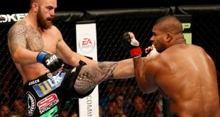 UFC Fight Night – Travis Browne KO Alistair Overeem