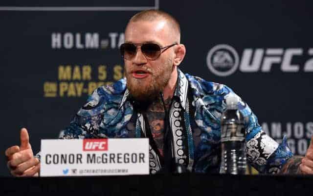 Реакция Конора Макгрегора на победу Хабиба на UFC 219