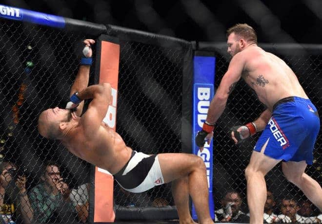 MMA: UFC Fight Night-Bader vs Latifi