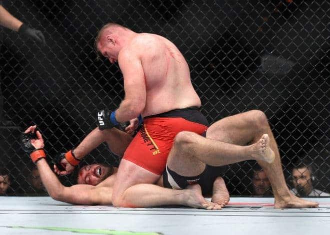 MMA: UFC Fight Night-Arlovski vs Barnett