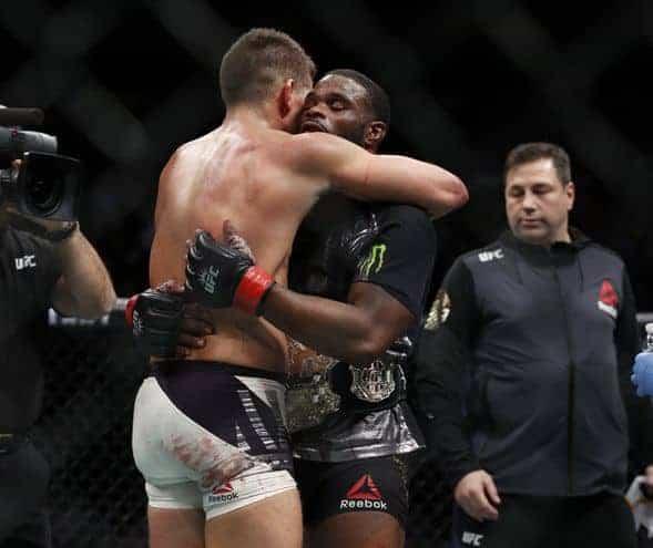 MMA: UFC 205-Woodley vs Thompson