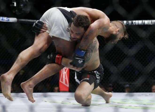 MMA: UFC 205-Edgar vs Stephens