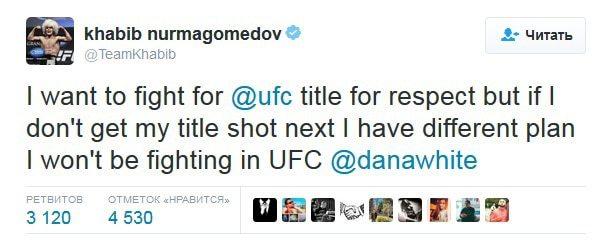 Хабиб впервые вошел в топ-15 P4P и вновь грозится уйти из UFC