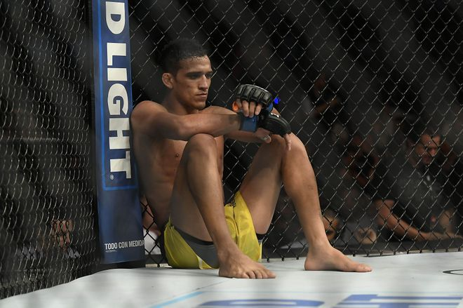 MMA: UFC Fight Night-Lamas vs Oliveira