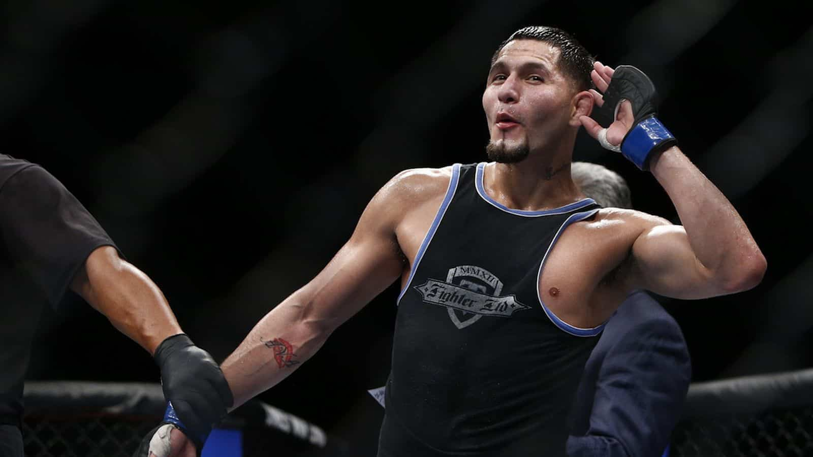 Watch as UFC welterweights Darren Till and Jorge Masvidal face off before their UFC London main event in March MMA News