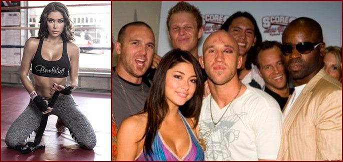 Шесть бойцов UFC, которые соблазнили октагон-герл