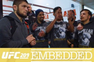 UFC 209: Embedded