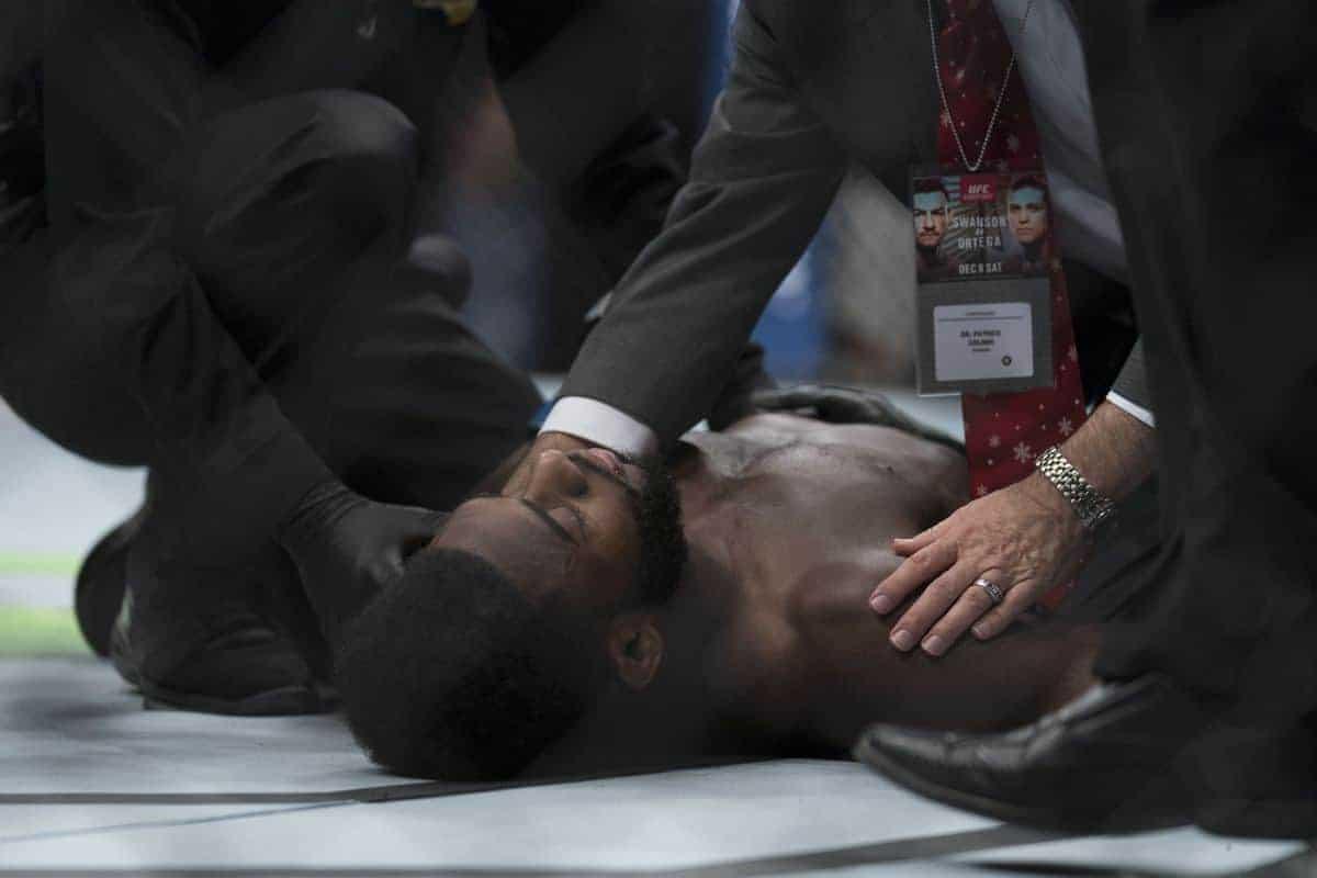 Медицинские отстранения после UFC Fresno