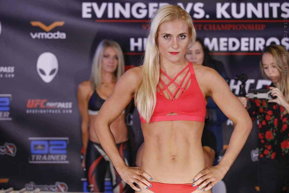 Яна Куницкая подписана в UFC, дебютирует в феврале
