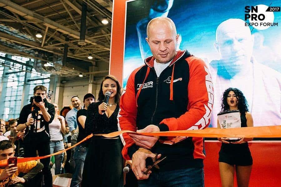 Федор Емельяненко совместно с компанией Sport Victory Nutrition запустил именную линейку спортивного питания
