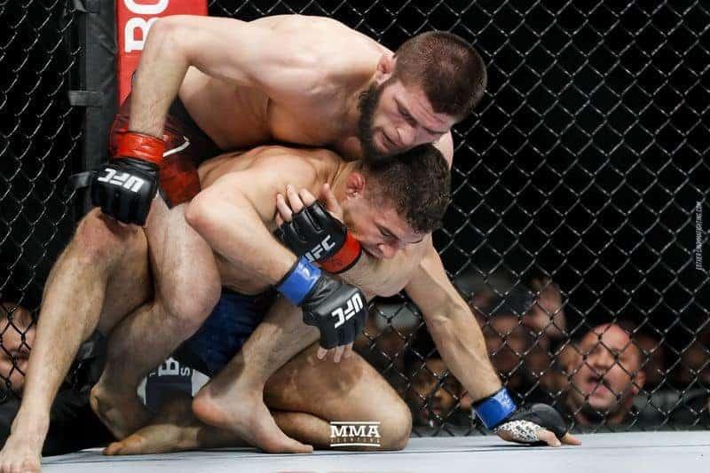 Хабиб Нурмагомедов UFC 223