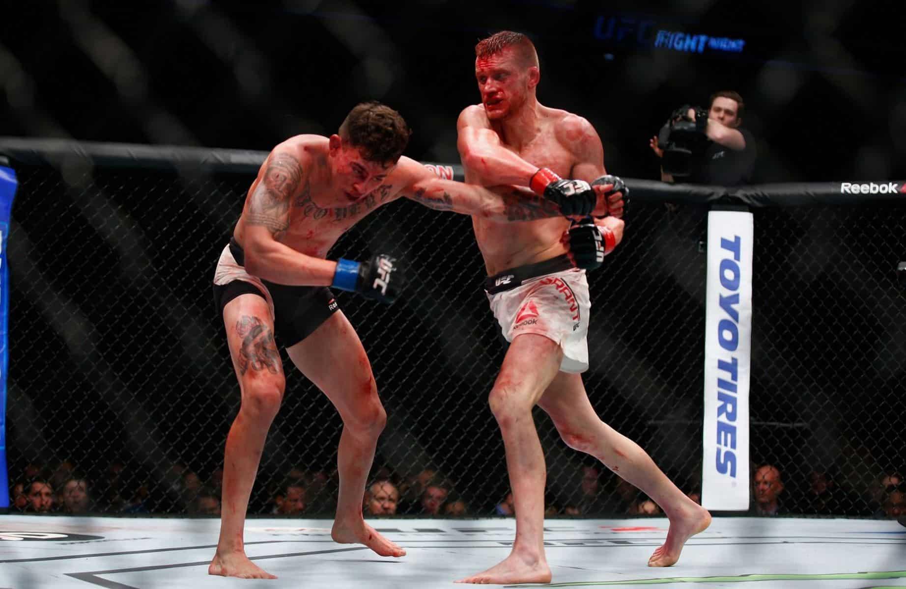 UFC Liverpool лишился боя за два дня до турнира