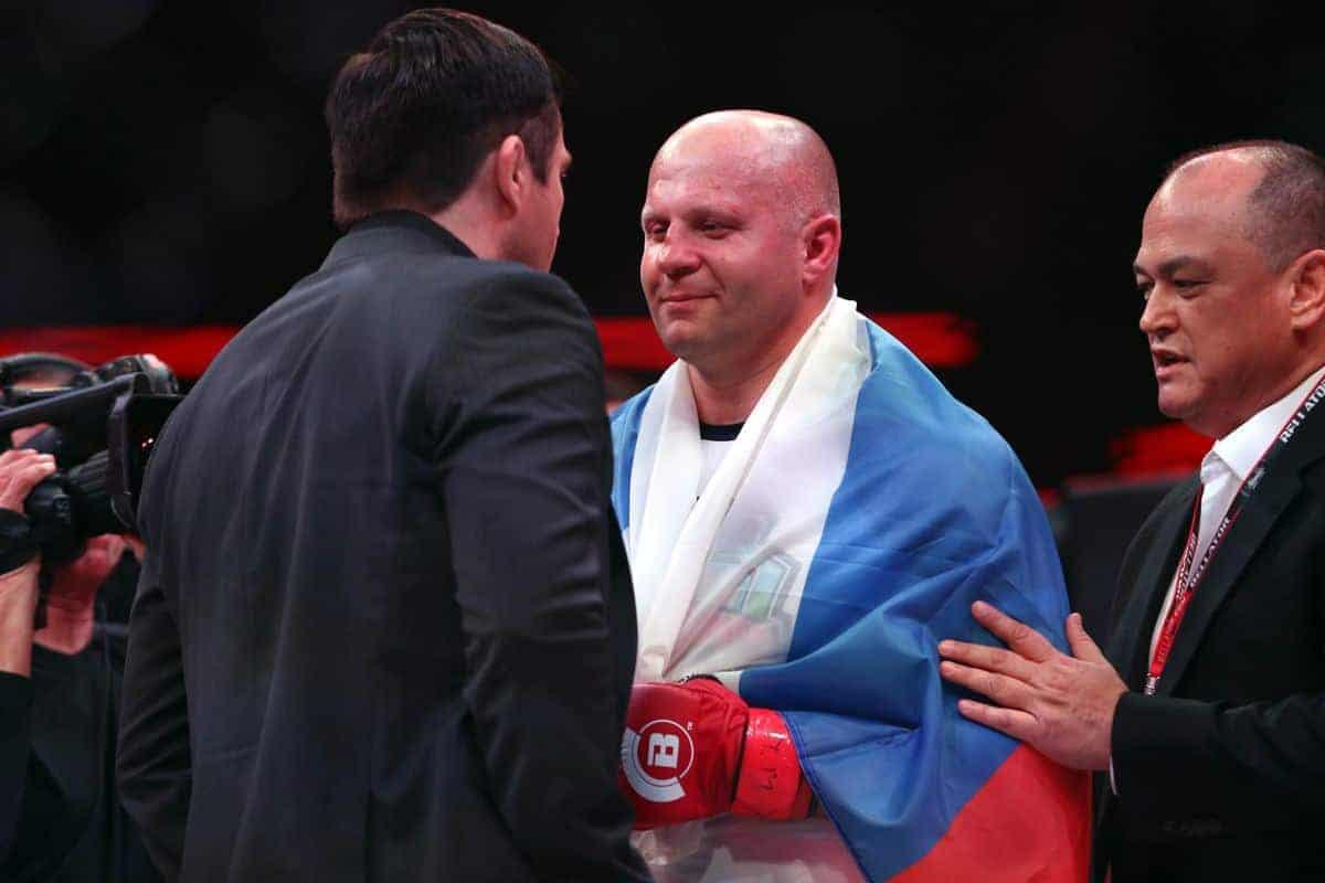 Тренер Емельяненко: Федор готов доказать Соннену, что он был не прав