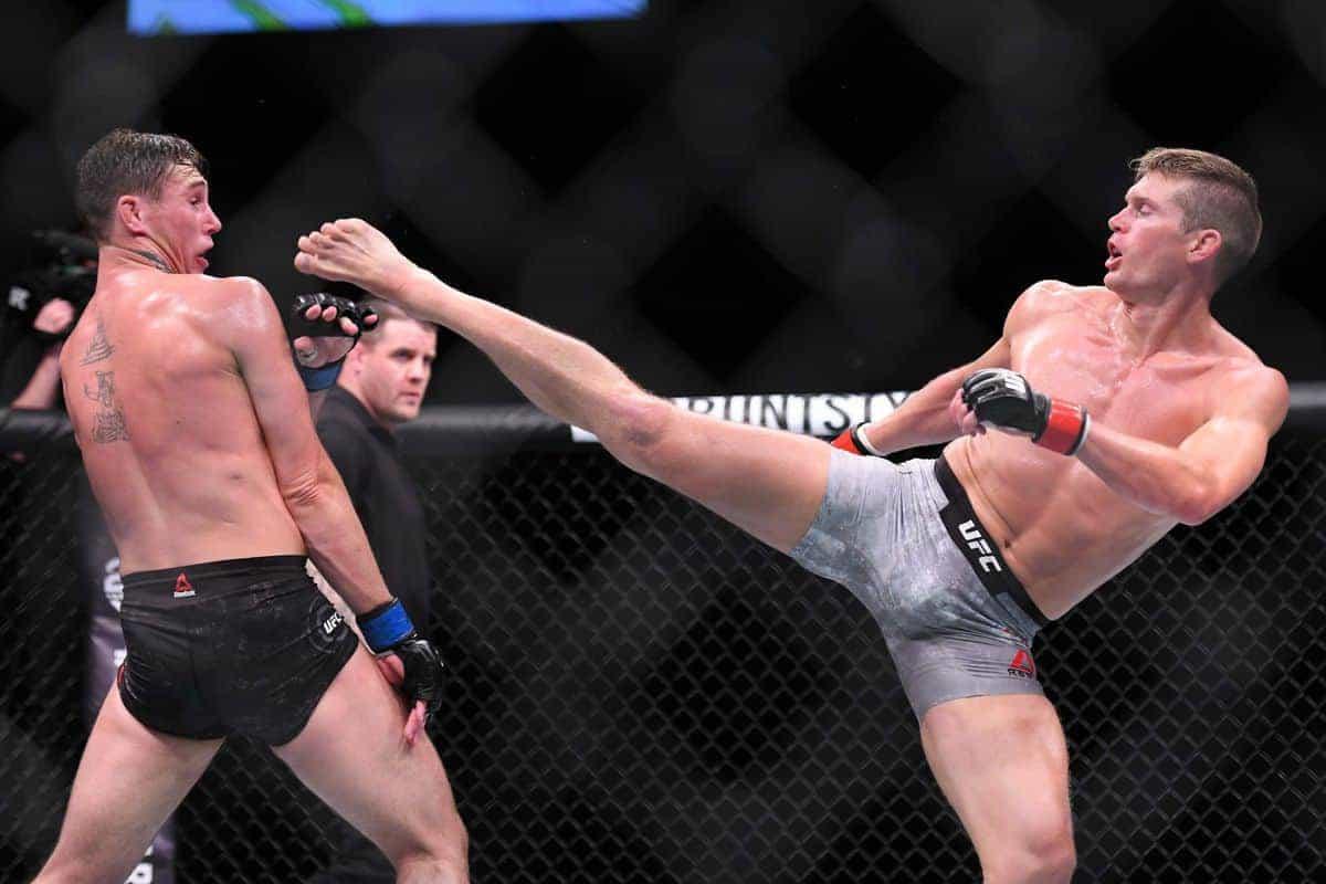 UFC Liverpool в цифрах: 12 занятных статистических фактов