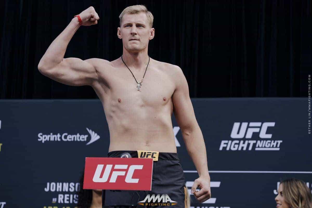 Стал известен возможный соперник Александра Волкова на UFC Moscow