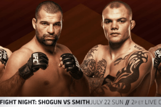 Результаты UFC Fight Night 134