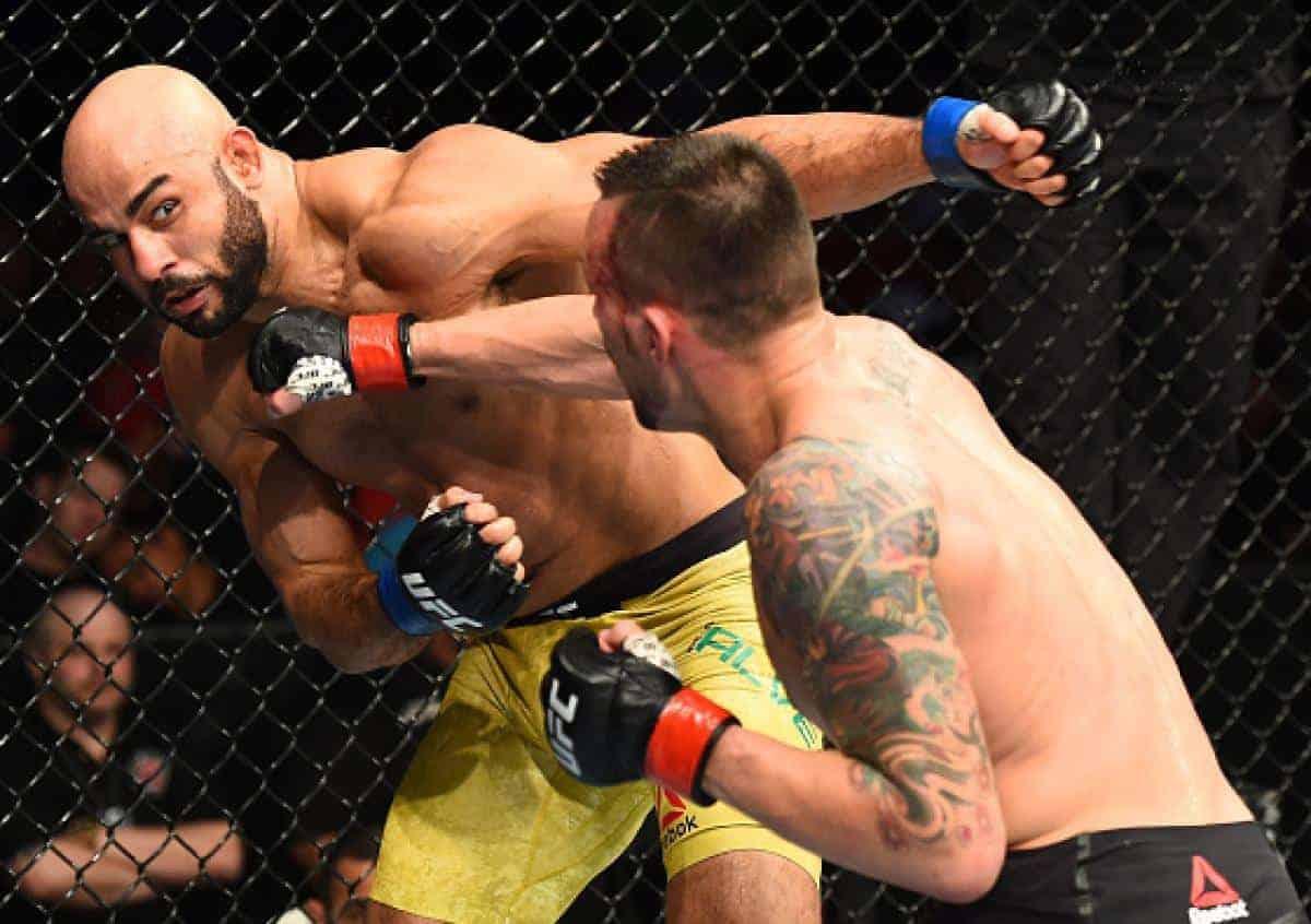 Медицинские отстранения UFC Fight NIght 135