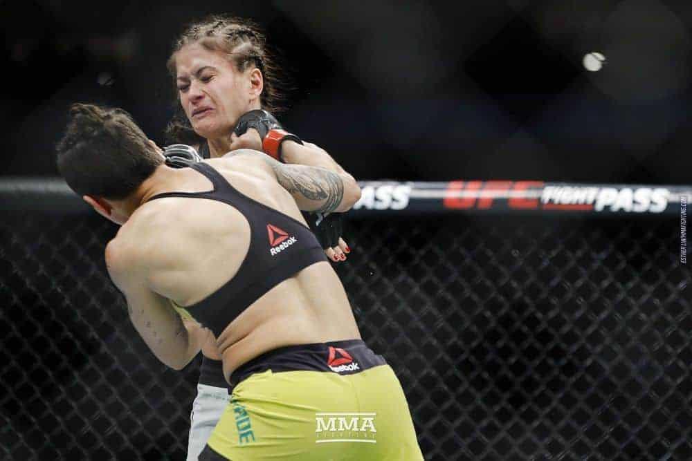 Медицинские отстранения UFC 228: Ковалькевич выбыла на два месяца после брутального нокаута