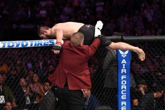 Драка после UFC 229