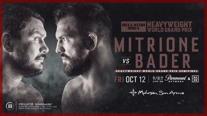 Результаты Bellator 207: Митрион - Бэйдер