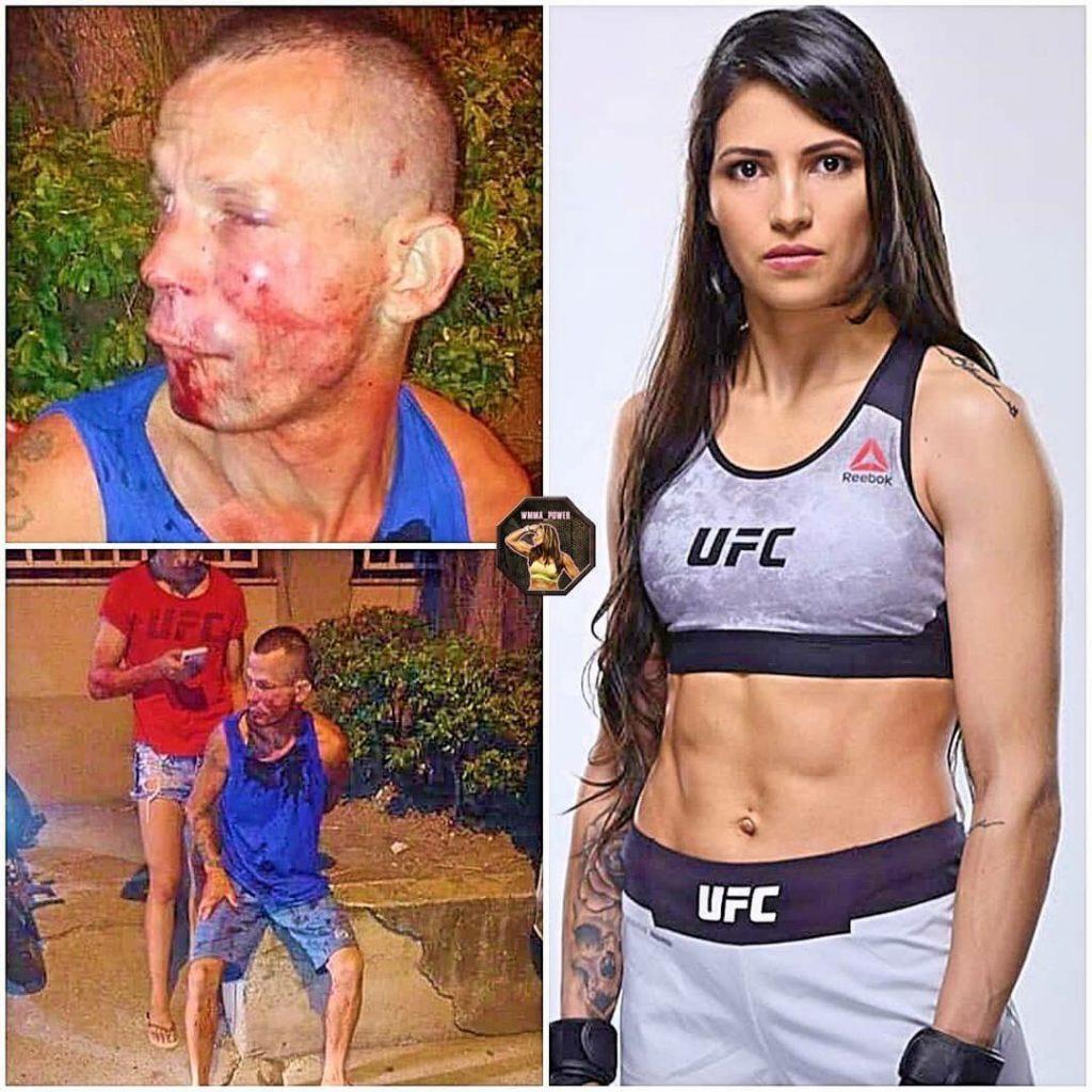 """Девушка боец из UFC жестко """"наказала"""" грабителя"""