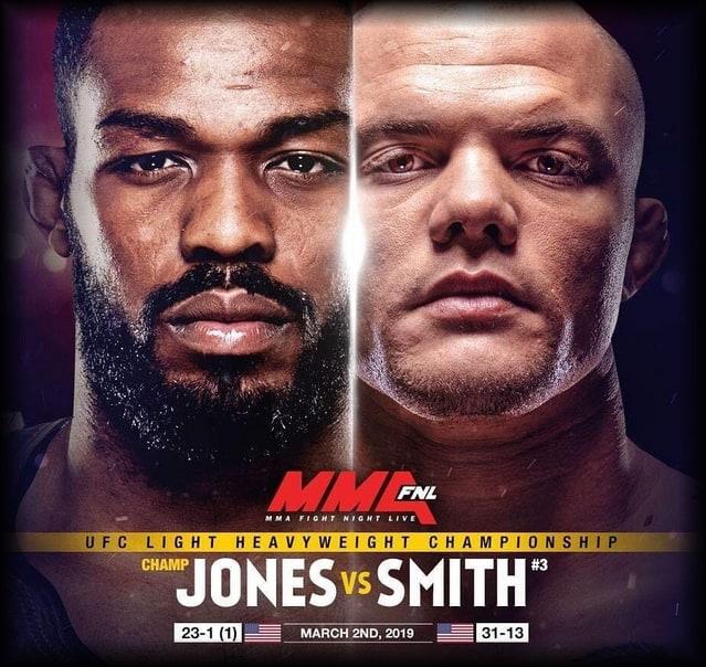 Кард UFC 235