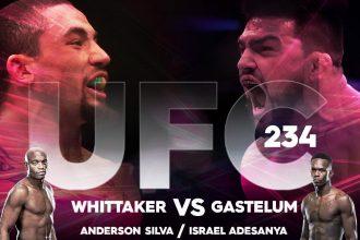 UFC 234 результаты