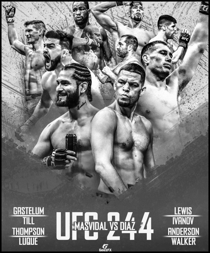 Результаты UFC 244