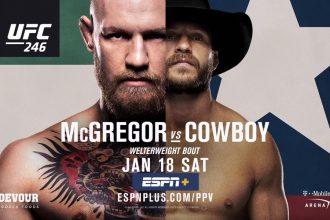 трейлер UFC 246