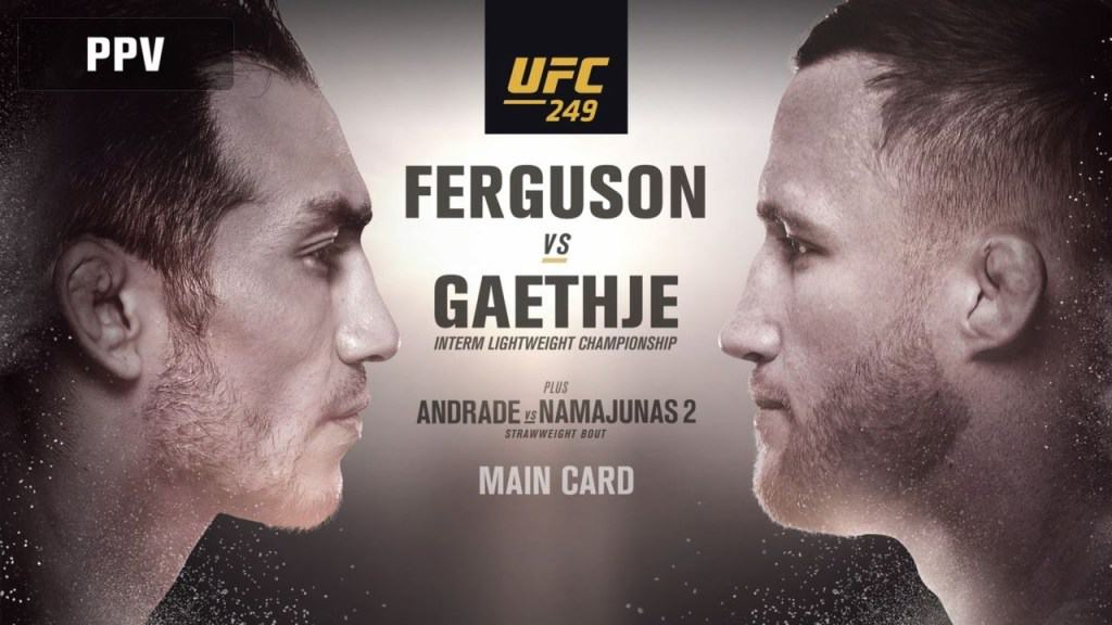 результаты UFC 249