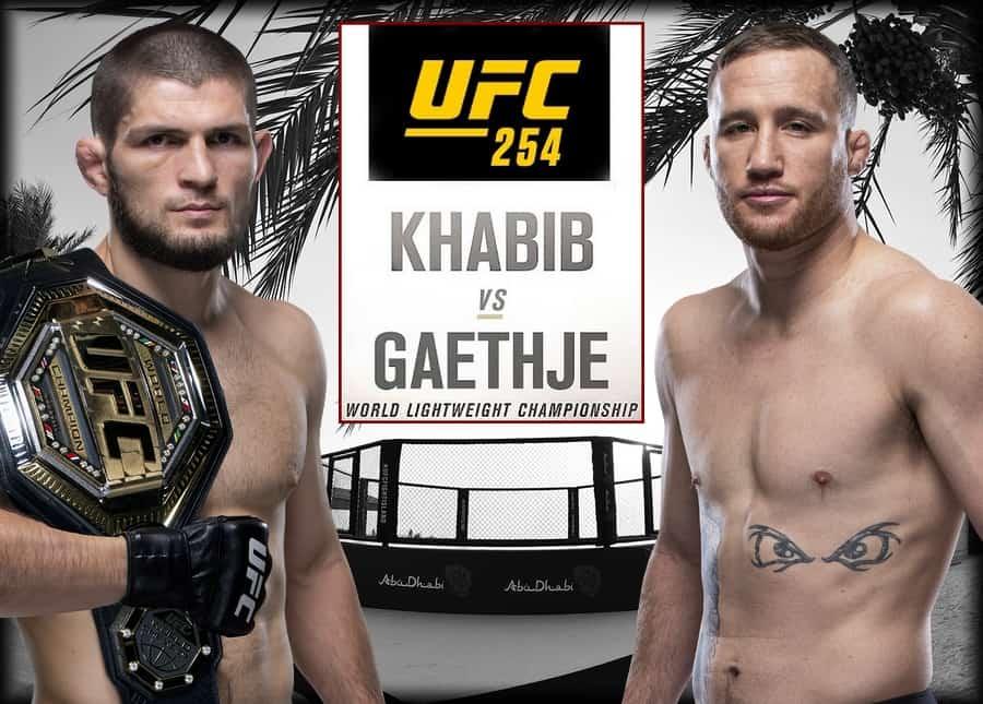 UFC 254 — Nurmagomedov vs. Gaethje