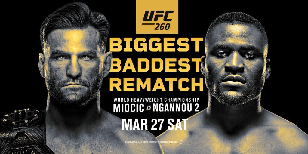смотреть UFC 260