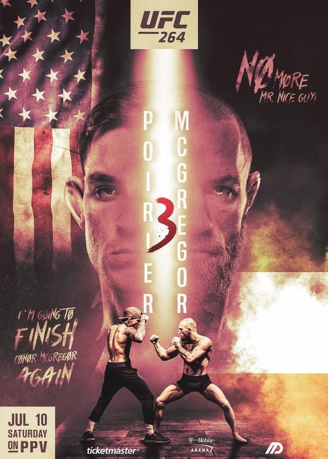 Результаты UFC 264: МакГрегор против Порье 3